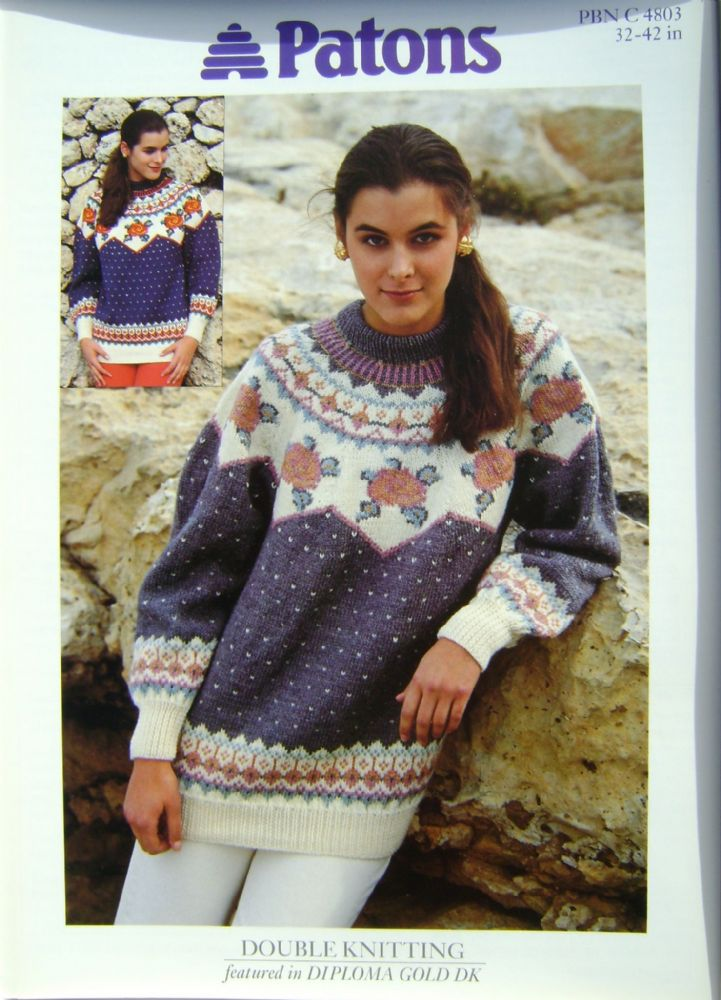 Patons Knitting Pattern 4803